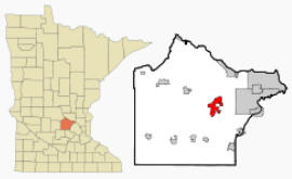 Location of Buffalo Minnesota