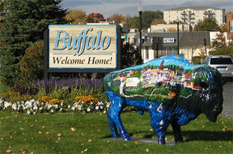 Buffalo Minnesota welcome sign