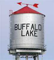 Buffalo Lake Minnesota water tower