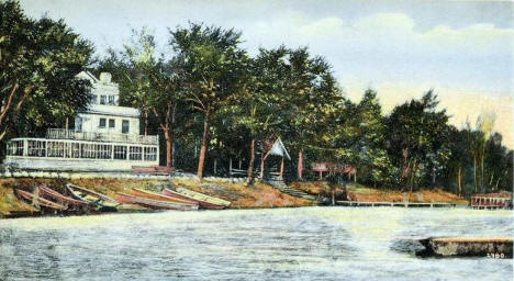Bannochie Summer Resort, Pulaski Lake, Buffalo Minnesota, 1908