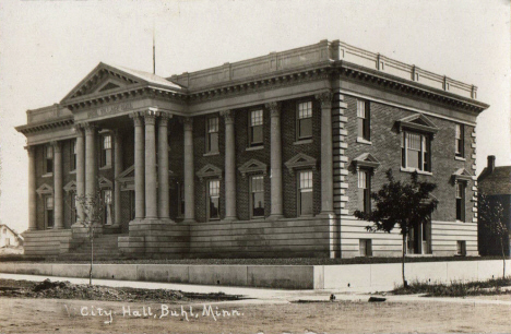 City Hall, Buhl Minnesota, late 1910's