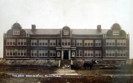New High School, Buhl Minnesota, 1910