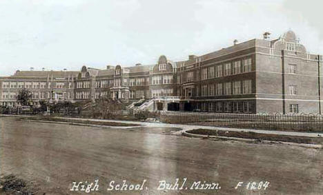 High School, Buhl Minnesota, 1943