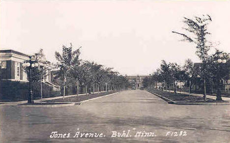 Jones Avenue, Buhl Minnesota, 1930's?