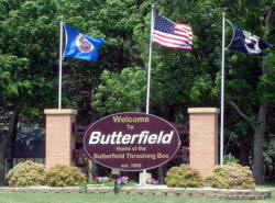 Welcome to Butterfield Minnesota!
