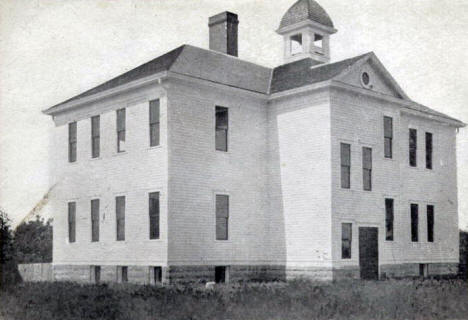 High School, Byron Minnesota, 1913