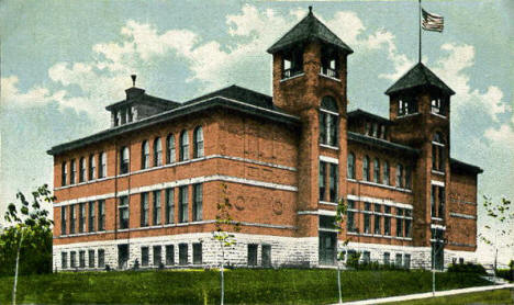 High School, Caledonia Minnesota, 1915