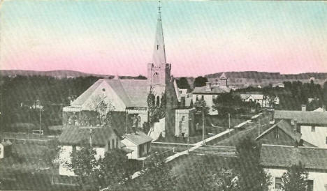 View of Caledonia Minnesota, 1913