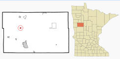 Location of Callaway, Minnesota