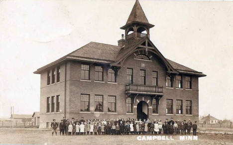 School, Campbell Minnesota, 1914