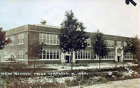 New School, Campbell Minnesota, 1922