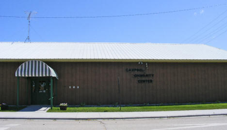 Campbell Community Center, Campbell Minnesota, 2008