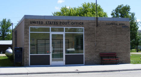 Post Office, Campbell Minnesota, 2008