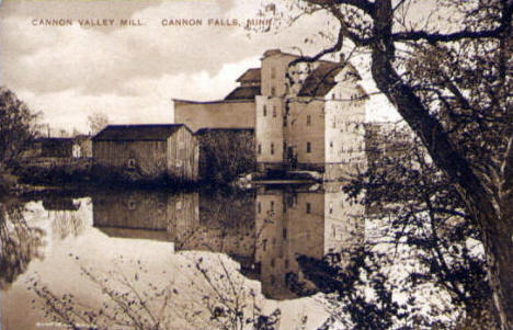 Cannon Valley Mill, Cannon Falls Minnesota, 1910's
