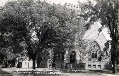Congregational Church, Cannon Falls Minnesota, 1940's