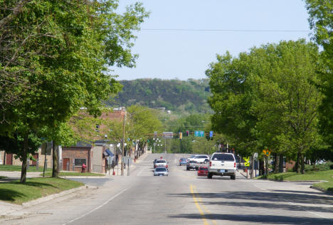 4th Street looking north, Cannon Falls Minnesota, 2010