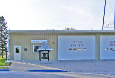 Community Center and Fire Department, Canton Minnesota, 2009