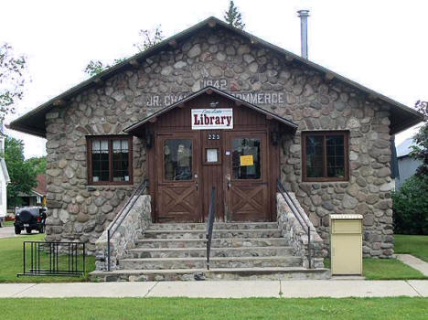 Cass Lake Library, Cass Lake Minnesota, 2006