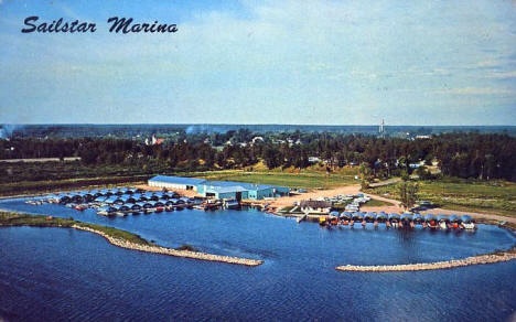 Sailstar Marina, Cass Lake Minnesota, 1967