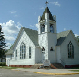 United Methodist Church , Cass Lake Minnesota