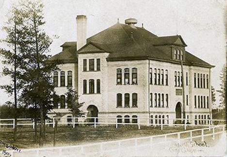 High School, Cass Lake Minnesota, 1907