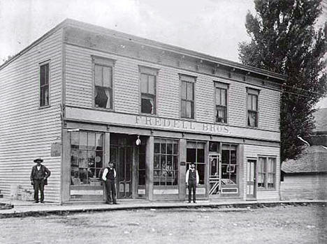 Fredell Brothers Store, Center City Minnesota, 1903