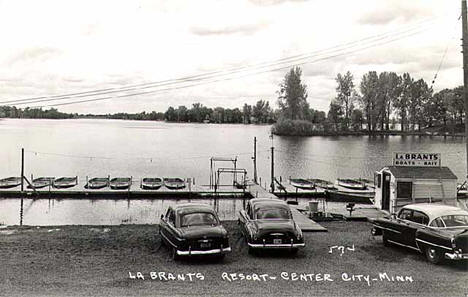 LaBrant's Resort, Center City Minnesota, 1950