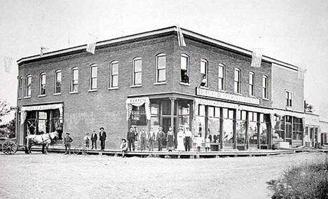 Bloom Mercantile Company, Chisago City Minnesota, 1905