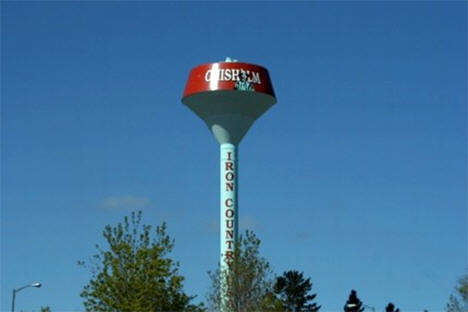 Water Tower, Chisholm Minnesota, 2010