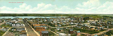 Birds eye view, Chisholm Minnesota, 1910