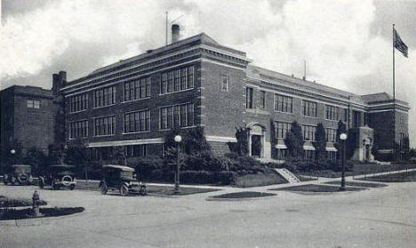 High School, Chisholm Minnesota, 1920's