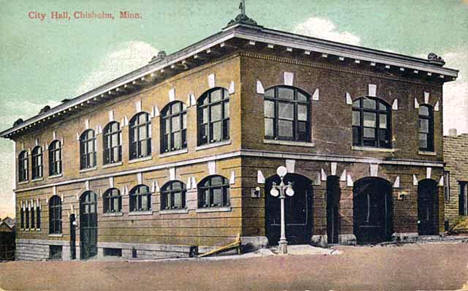 City Hall, Chisholm Minnesota, 1915