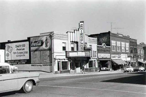 Chisholm Theater at 124 West Lake Street in Chisholm Minnesota, 1964