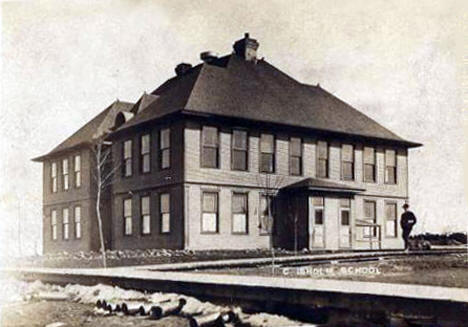 Chisholm School, Chisholm Minnesota, 1907