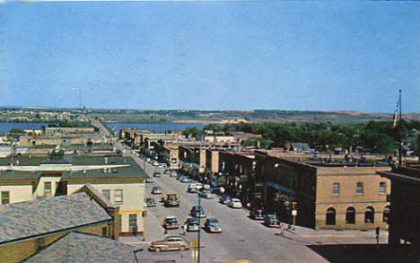 Business District, Chisholm Minnesota, 1960