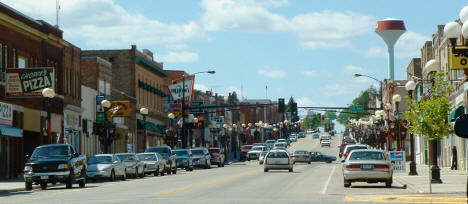 Lake Street in Chisholm Minnesota