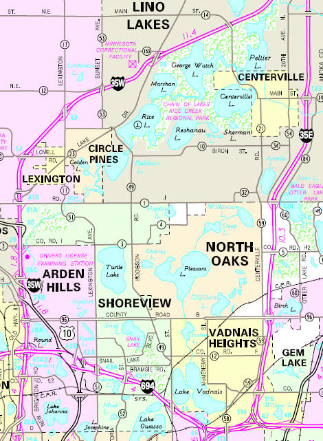 Guide To Circle Pines Minnesota