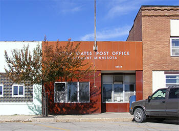 US Post Office, Claremont Minnesota