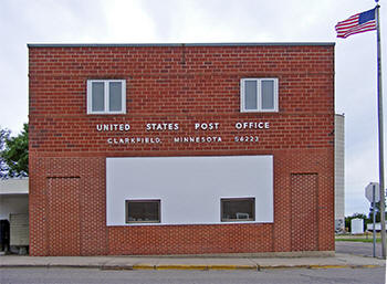 Post Office, Clarkfield Minnesota