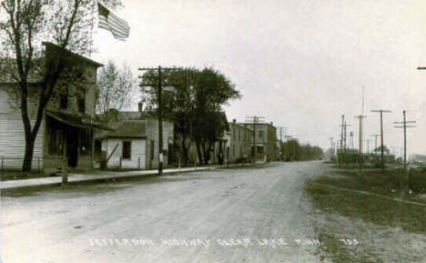 Jefferson Highway, Clear Lake Minnesota, 1910's
