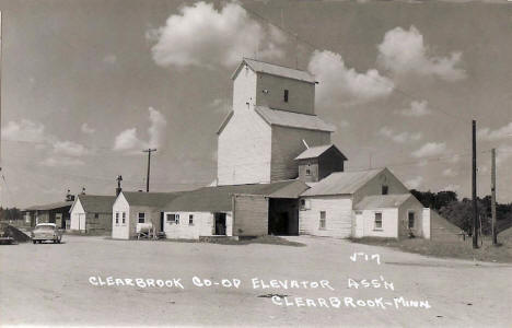 Clearbrook Co-op Elevator Association, Clearbrook Minnesota, 1950's