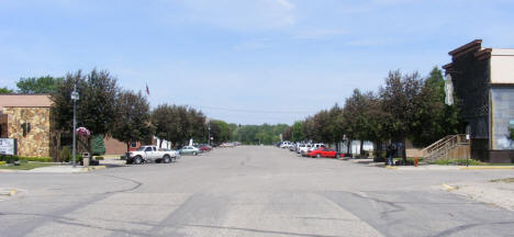 Street scene, Clearbrook Minnesota, 2008