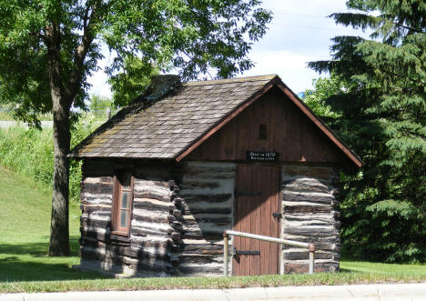 1870 Cabin in City Park, Cleveland Minnesota, 2010