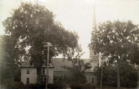 Church, Cleveland Minnesota, 1912