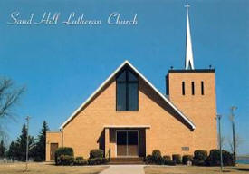 Sand Hill Lutheran Church, Climax Minnesota