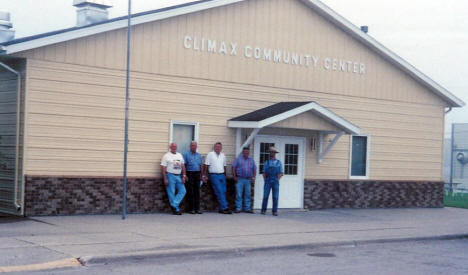 Climax Community Center, Climax Minnesota, 2007