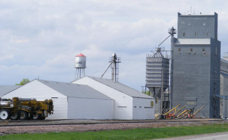 Water Tower and Grain Elevator at Climax Minnesota, 2008
