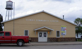Climax Community Center, Climax Minnesota