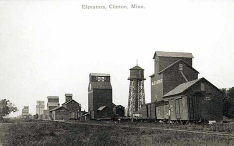 Elevators, Clinton Minnesota, 1910