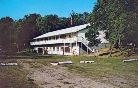 Inspiration Bible Camp on Spitzer Lake, Clitherall Minnesota, 1960's